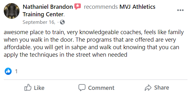 Adult3, MVJ Athletics Training Center Newark, DE